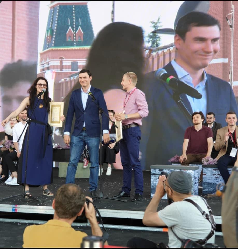 В рамках премии «Лицей» были вручены два специальных приза от журнала «Юность» в номинации «Поэзия».